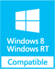 Easy Flyer Creator (Windows Store App) has been tested for baseline compatibility with Devices running the Windows 8™ and Windows RT™ operating system.